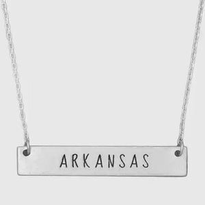 Arkansas State Bar Necklace